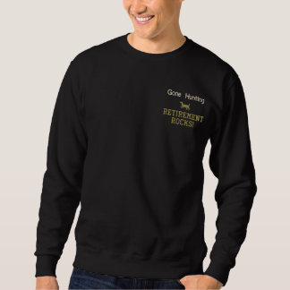 Gegangene jagenruhestands-Felsen! Sweatshirt