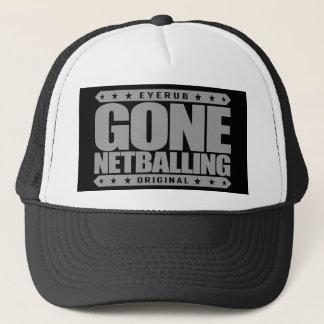 GEGANGENE NETBALLING - Der Netball der Frauen ist Truckerkappe