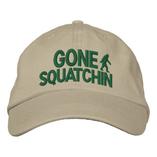 Gegangene Squatchin deluxe Version Bestickte Kappe