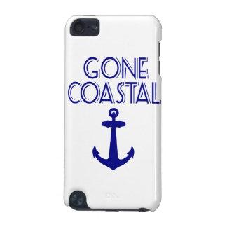 Gegangener Küstenmarine-Blau-Anker iPod Touch 5G Hülle