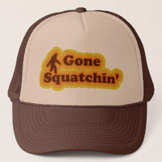 Gegangener Squatchin Hut mögen Bobo Truckerkappe