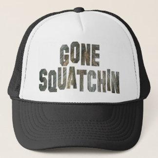 Gegangener Squatchin Sasquatch Truckerkappe