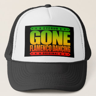 GEGANGENES FLAMENCO-TANZEN - i-Liebe-spanische Truckerkappe