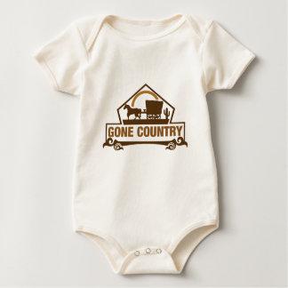 Gegangenes Land - Land-Leben Baby Strampler