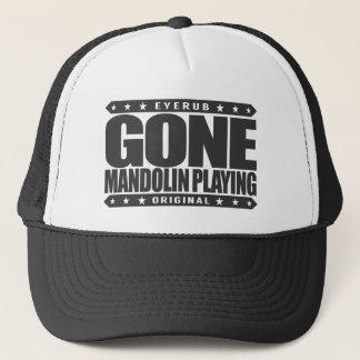 GEGANGENES MANDOLINEN-SPIELEN - italienisches Truckerkappe