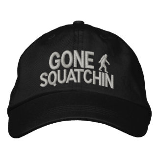 Gegangenes Squatchin Bigfoot Logo Bestickte Kappe