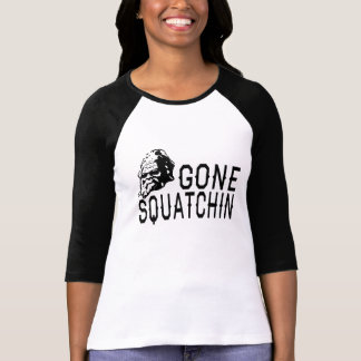 Gegangenes Squatchin - coole Sunglass Version B&W T-Shirt