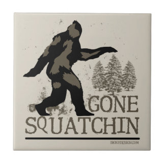 Gegangenes Squatchin Keramikfliesen