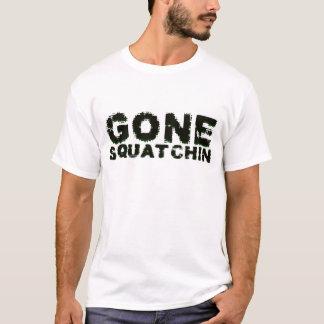 Gegangenes Squatchin in der schwarzen Camouflage T-Shirt