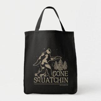 Gegangenes Squatchin Sasquatch Einkaufstasche
