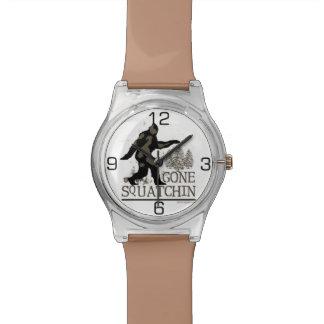 Gegangenes Squatchin Uhren