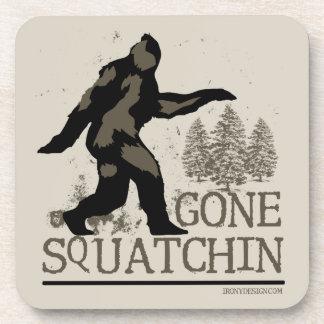 Gegangenes Squatchin Untersetzer