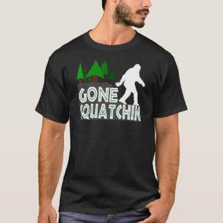 Gegangenes Squatchin ursprüngliches Entwurfs-Shirt T-Shirt