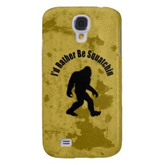 Gegangenes Squatchin Vintag Galaxy S4 Hülle