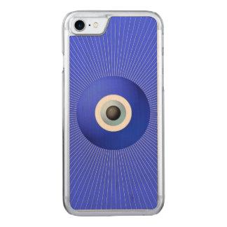 Gegen bösen Blick zu schützen Talisman, sich Carved iPhone 8/7 Hülle