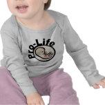 Gegen die Abtreibung Fötus-Entwurf Shirts