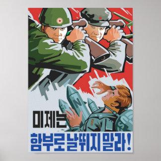 Gegen die US-Imperialisten Plakatdrucke