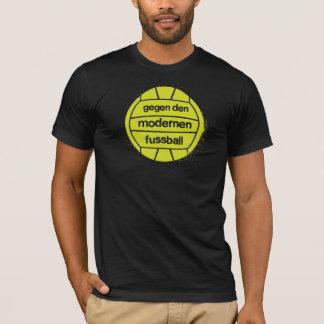 Gegen Höhle modernen Fußball T-Shirt