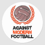 Gegen modernen Fußball Sticker