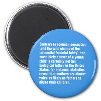 Gegenteil zur allgemeinen Vorstellung… Runder Magnet 5,7 Cm
