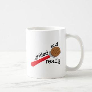 Gegrillt und bereiten Sie vor Tasse