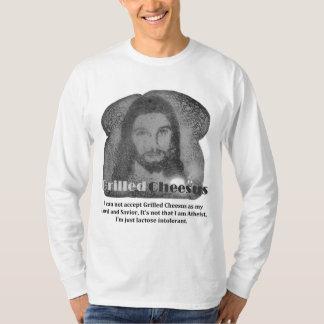 Gegrillte Cheesus intolerante lange Hülse T-Shirt