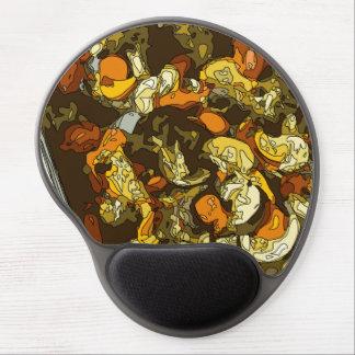Gegrillte Karotten Zucchini und Pilz-Teller