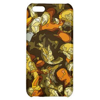 Gegrillte Karotten Zucchini und Pilz-Teller iPhone 5C Hülle