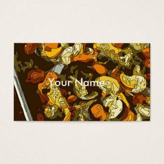 Gegrillte Karotten Zucchini und Pilz-Teller Visitenkarte