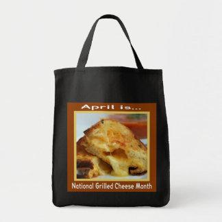 Gegrillte Käse-Feiertags-Taschen-Tasche Einkaufstasche