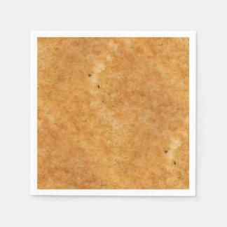 Gegrillte Käsetoast-Seitenperfektion beim Kochen Servietten