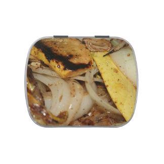 Gegrillte Zwiebeln und Kürbisnahrung Jelly Belly Dose