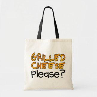Gegrillter Käse bitte? Budget Stoffbeutel