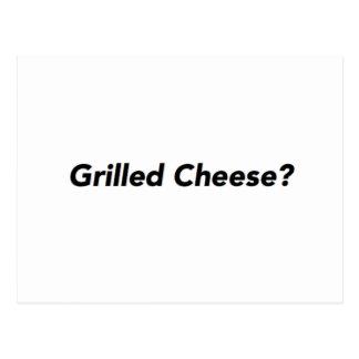 Gegrillter Käse? Postkarte