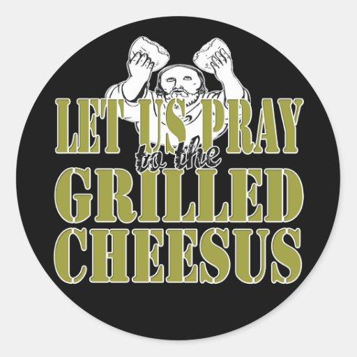 Gegrilltes Cheesus Sticker