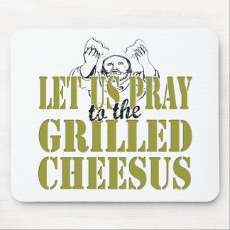 Gegrilltes Cheesus Mousepads