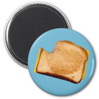 Gegrilltes Käse-Sandwich Runder Magnet 5,1 Cm