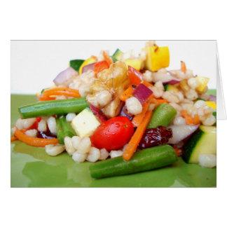 Gehackte Salat-Anmerkungs-Karte - besonders Karte