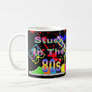 Gehaftet im 80er kaffeetasse