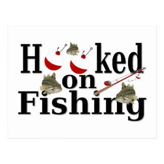 gehakt auf Fischen Postkarte