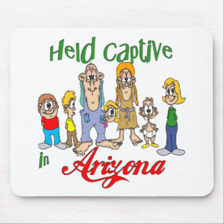 Gehaltener Gefangener in Arizona Mousepad