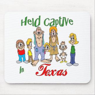 Gehaltener Gefangener in Texas Mousepads