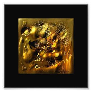 Gehämmertes Gold Kunst Photo