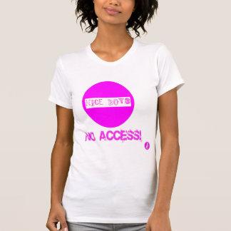 Gehässiges tolles Trägershirt kein Zugang für T-Shirt