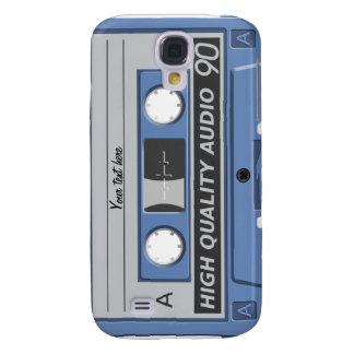 Gehäuse mixtape Kassette 3 Galaxy S4 Hülle