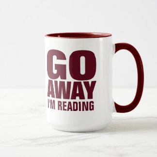 , Gehe ich lese lustige Kaffee-Tassen weg Tasse