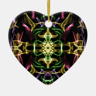 Geheim u. mystisch keramik Herz-Ornament