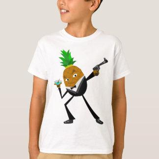 Geheime Agent-Ananas T-Shirt