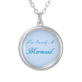 Geheime Meerjungfrau-runde Halskette