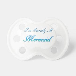 Geheime Meerjungfrau Schnuller